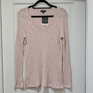 Topshop V-Neck Sweater NWT